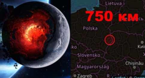 В Польше тряхнуло землетрясение на глубине 750 км