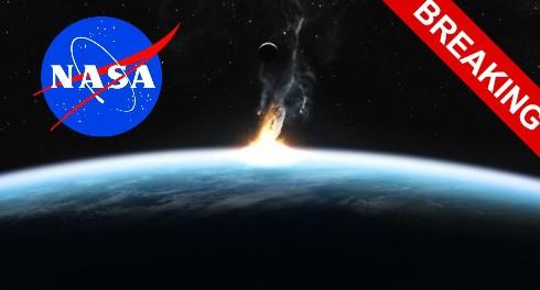 29 апреля NASA покажет удар астероида