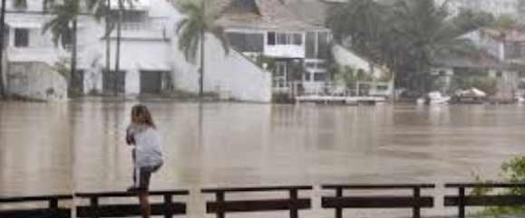 Наводнение в Бразилии оказалось как после землетрясения