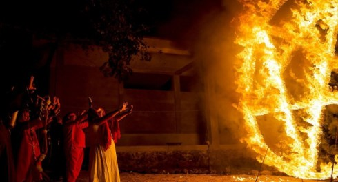 Ритуал Огня продолжится до 2 мая