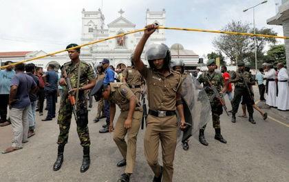 Подробности взрывов в Шри-Ланке