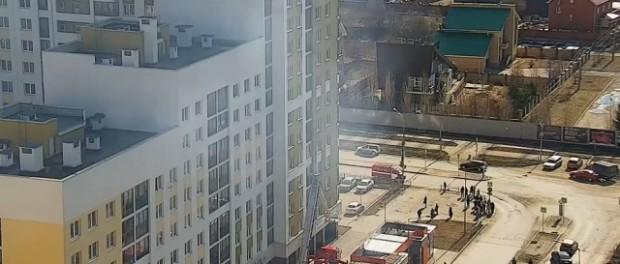 Самогонный аппарат разнес квартиру в Академическом