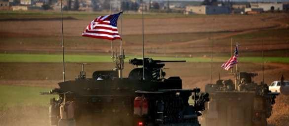 США перекидывают бронетехнику в Сирию