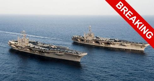Пентагон приготовил для авиносцы для нанесения ударов по Сирии