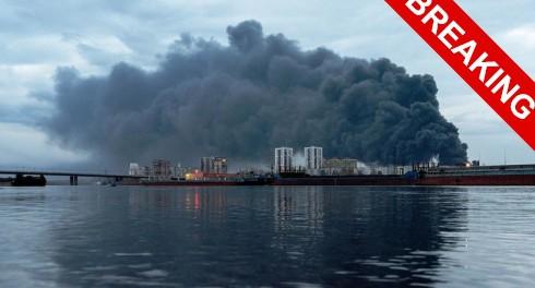 Сейчас горят Москва и Красноярск