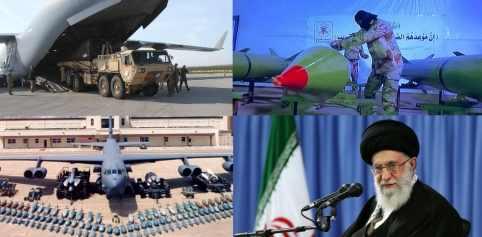 Флот США в ожидании бомбежки Ирана