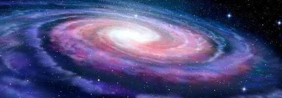 Млечный путь разорвала черная дыра