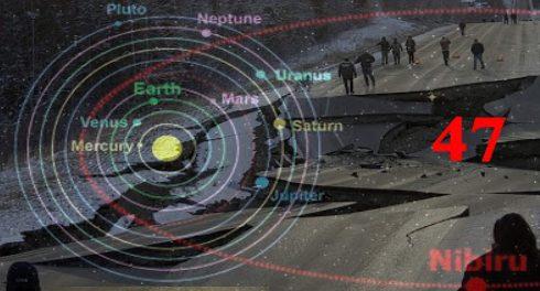 Серия землетрясении и проход Нибиру