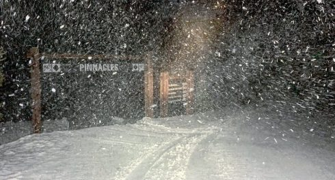 В США пришла снова зима