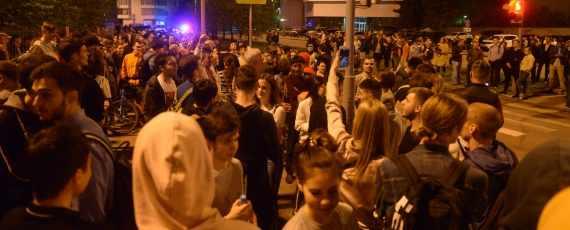 Ройзман: губернатор должен стройку в сквере остановить