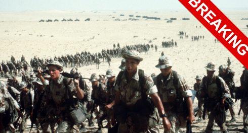 Пентагон перебрасывает 100000 солдат для нападения на Иран