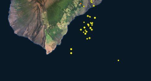На Гавайях обозначился новый вулкан