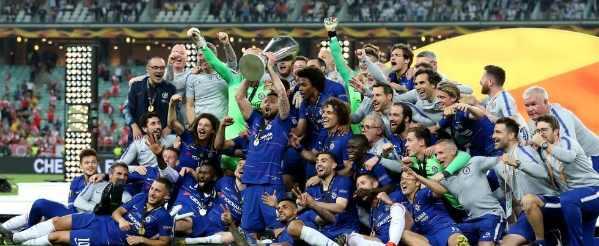 «Челси» уничтожил «Арсенал» в финале Лиги Европы