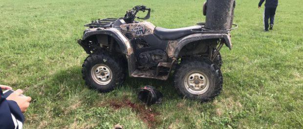 Еще один подросток убился на квадроцикле