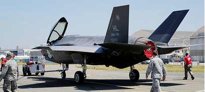 В России снова раскритиковали F-35