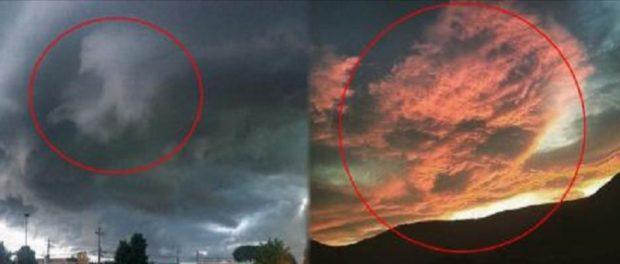 Небо начало показывать черепа