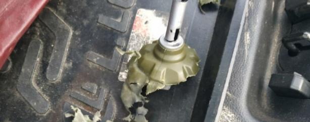 Кретин бросил в машину гранату возле «Дирижабля»