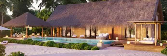 Waldorf Astoria Ithaafushi курорт Мальдивы туризм путешествия путевки