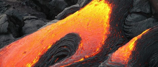 Турист упал в вулкан