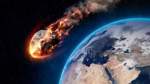 Что-то на огромной скорости мчится к нашей планете