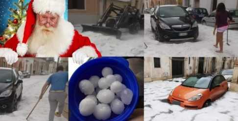 В Италии даже в Новый год не выпадало столько снега