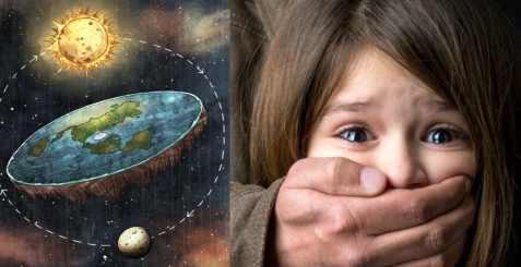 Теоретиков Плоской Земли начали сажать