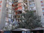 Обрушение дома в Молдове