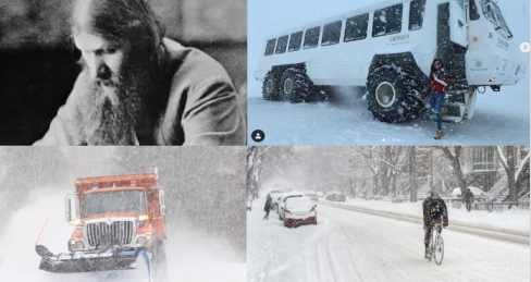 США завалило снегом: пророчество Распутина
