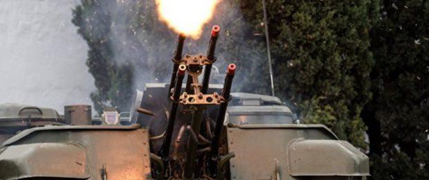 ПВО Сирии начало обстрел самолётов Израиля