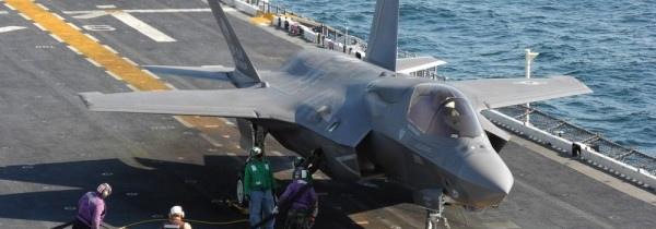 F-35 развалился на форсаже