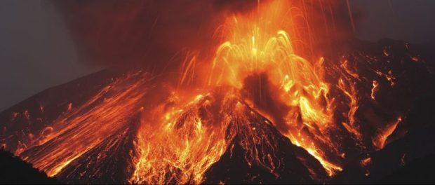 Все живое погибло на острове Райкоке  от вулкана