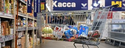 Цены на продукты  в России опережают Европу