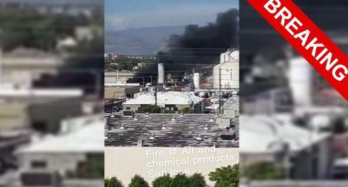 На химическом заводе США тоже что-то взорвалось
