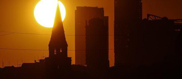 Страшная жара надвигается на Москву