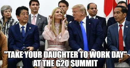 Иванка Трамп опозорила папаню на G20