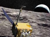 протонное излучение Луны