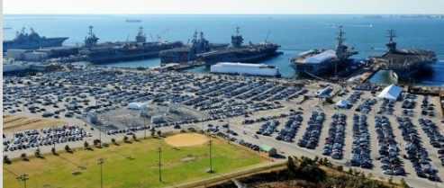 Базу ВМФ США Норфолк уничтожить торпеда из гидрата метана