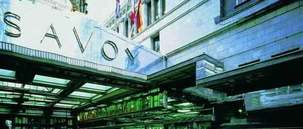 Знаменитый лондонский отель Savoy недавно открылся