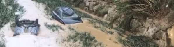 Испания утопает в наводнении