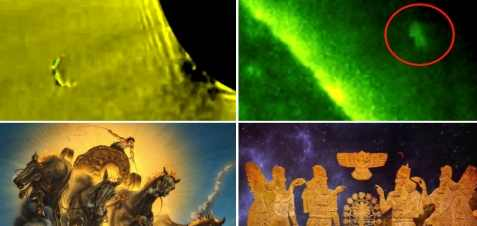 Гигантские НЛО прибыли на Землю
