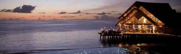 Роскошный курорт Dhigu — рай на Мальдивах