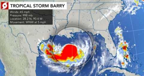 Новый Орлеан снова под угрозой потопа