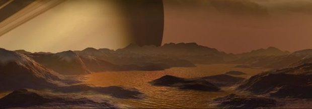 Что же находится Титане на спутнике Сатурна