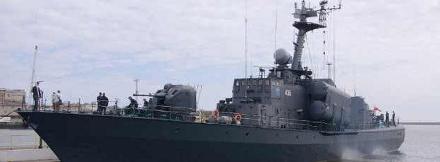Польша продает Украине два ракетный корвета НАТО