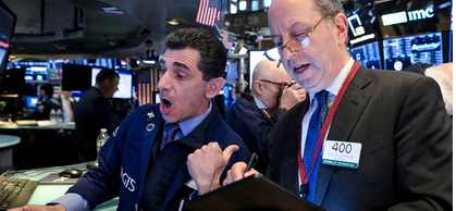 Вместе с Китаем рухнул американский индекс S & P 500