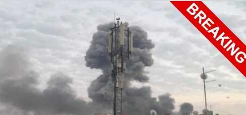 Военную базу США в Багдаде наконец-то взорвали