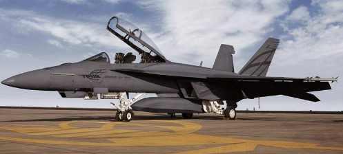 Вулканическая молния сшибла F-18 в Калифорнии