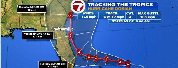 Ураган «Дориан» готов снести поместье Трампа