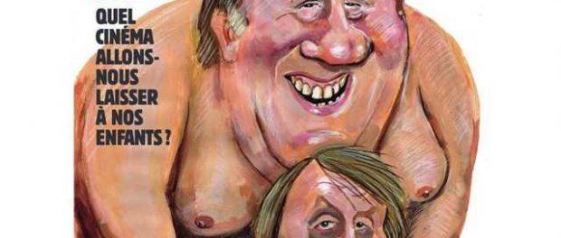 Депардье появился в журнале Charlie Hebdo