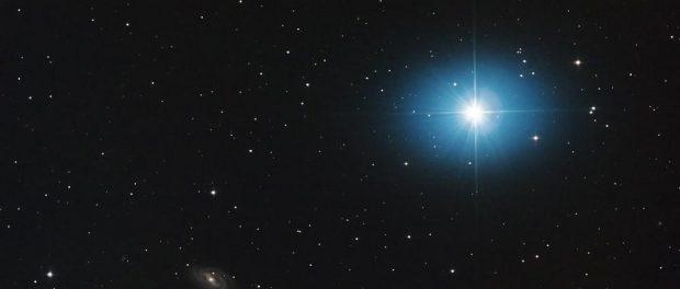 Из Галактики вылетела звезда